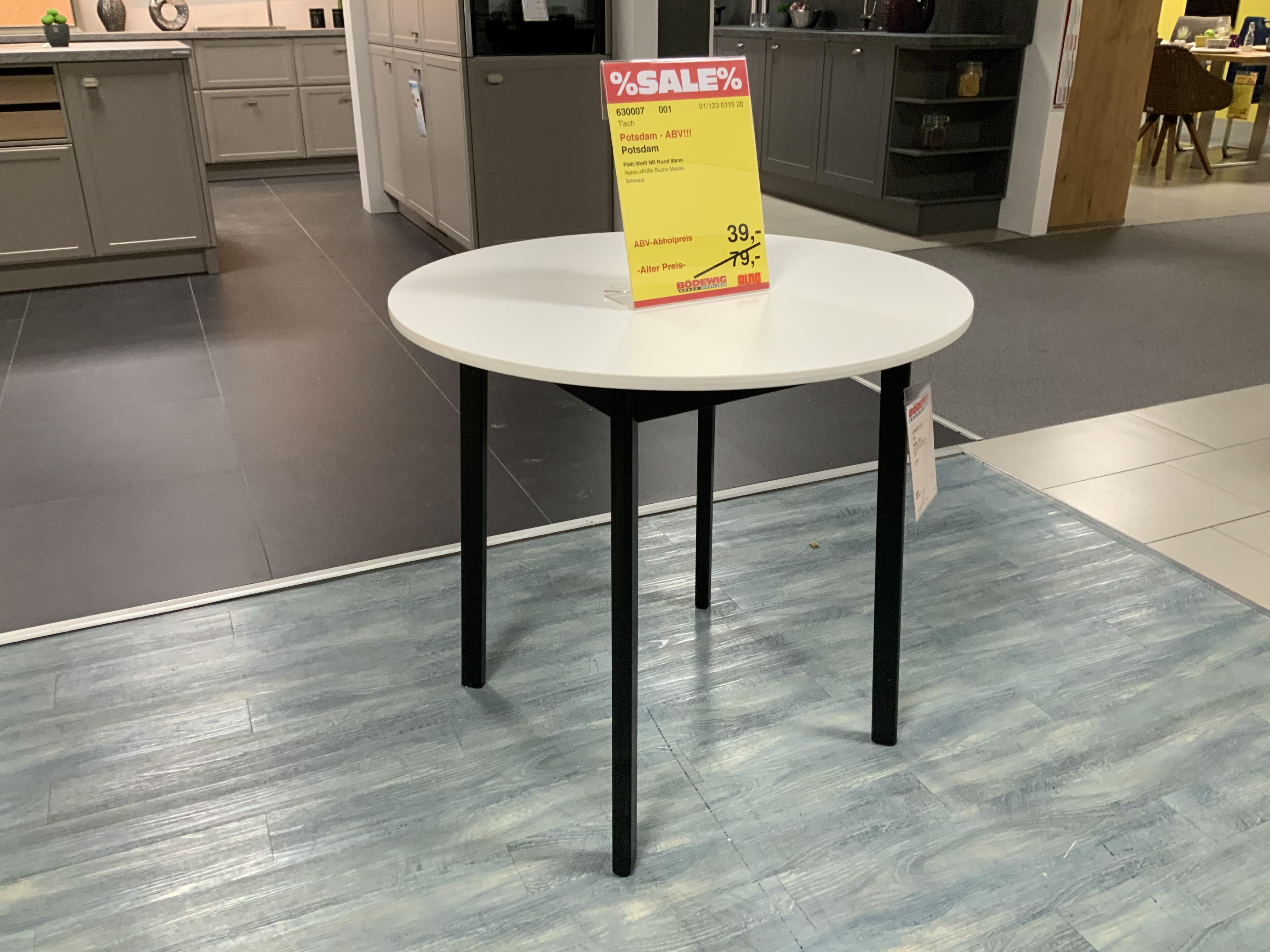 Tisch rund D80 cm 630007